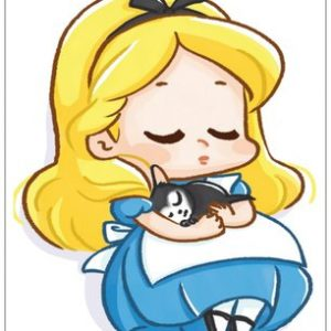 Alice carte postale