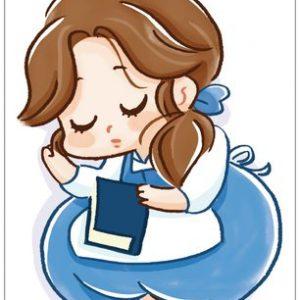 belle princesse carte postale